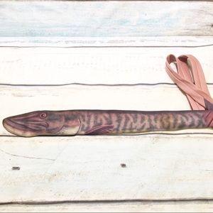 Vintage Ralph Marlin 1986 Fish Neck Tie
